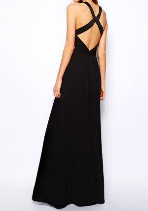 Cross back maxi dress from Lookbook Store