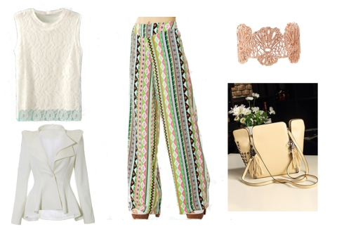 Palazzo Pants Day Wear | Lookbook Store