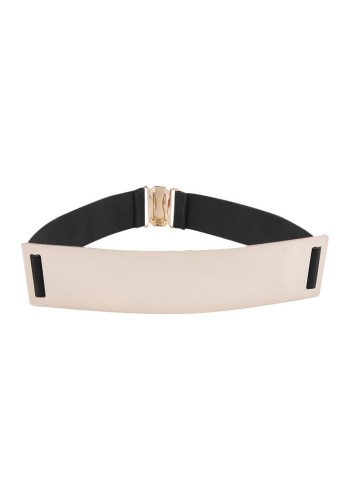 Smooth Plate Stretch Waist Belt from Lookbook Store