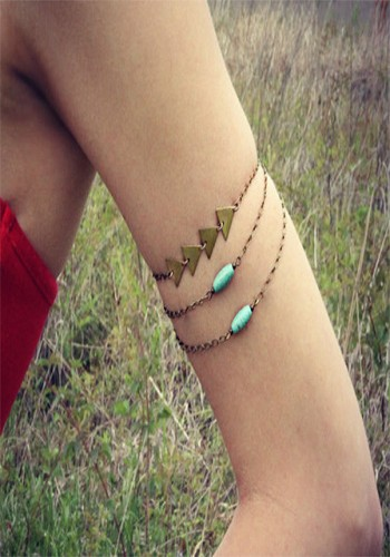 Gold Gemstone Bracelet from Lookbook Store