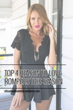 Top 4 Reason to Love Rompers This Season | LOokbook Store