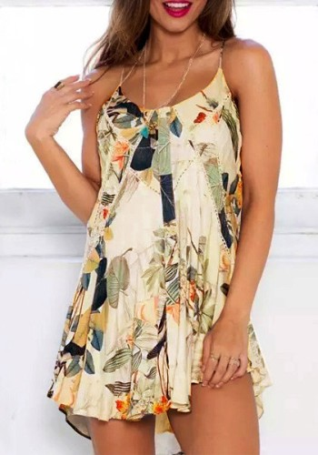 Pastoral Print Cami Dress from Lookbook Store