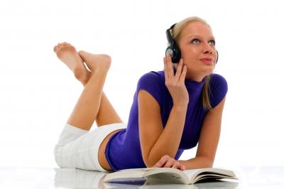 listening to music | Lookbook Store
