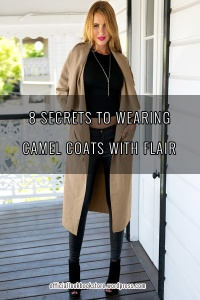 8 Secrets to Wearing Camel Coats with Flair | Lookbook Store