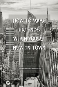 How to Make Friends When You're New in Town | Lookbook Store