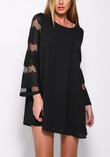http://www.lookbookstore.co/products/black-mesh-sleeve-chiffon-shift-dress?utm_source=Web20&utm_medium=Wordpress&utm_campaign=LBSWordpress