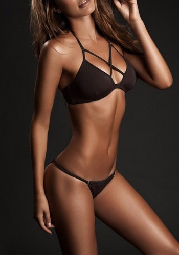 Coffee Brown Crisscross Bikini Set | Lookbook Store