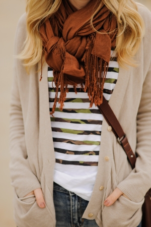 Woven Scarf Knot