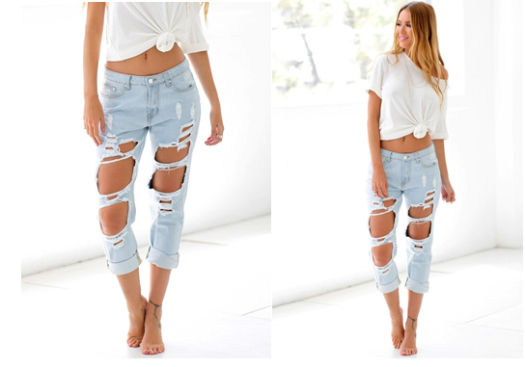 faded-ripped-jeans